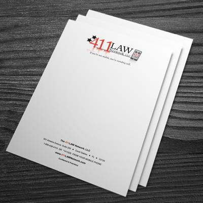 Letterhead printed in full color on 70lb white offset stock by elite stationery 70lb white letterhead colourmoves