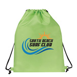personalized-drawstring-backpack-lime-green