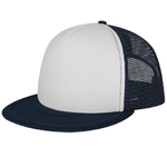 white-front-navy-blue-mesh-trucker-hats-screen-printed